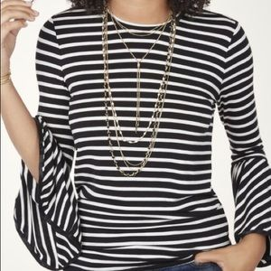 Maette for Stella & Dot Avery Bell Sleeve Knit Top